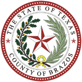 Brazos County Seal